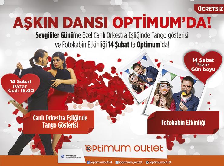 Optimum Outlet Şubat Etkinlikleri